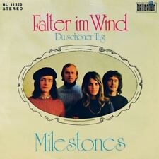 """7"""" MILESTONES Falter im Wind BELLAPHON Grand Prix Eurovision ESC Austropop 1972"""