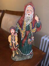 History Of Santa Iii Star Man Figurine