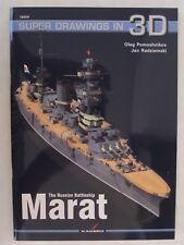 Kagero Book: The Russian Battleship Marat (Super Drawings in 3D)