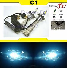 LED Kit C1 60W 9003 HB2 H4 8000K Icy Blue Head Light STOCK FIT LAMP JDM COLOR