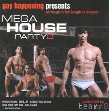 VARIOUS ARTISTS - GAY HAPPENING PRESENTS: MEGA HOUSE PARTY, VOL. 2 USED - VERY G