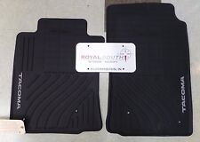 Toyota Tacoma 2005 - 2011 Factory All Weather Rubber Floor Mats Genuine OEM OE
