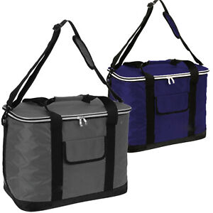Extra Large 60 Can 30L Insulated Cool Bag Cooler Picnic Drinks Carrier Tote