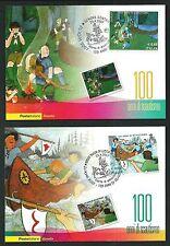 Scouts / Scautismo 2007 : n.2 cartoline Ufficiali Poste Italiane per i 100 anni