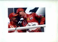 Mika Salo Ferrari F1 Podium Portrait German Grand Prix 1999 Signed Photograph