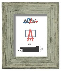 """US Art Frames 2.75"""" Worn Distressed Country Tumbleweed Polystyrene Picture SLot"""