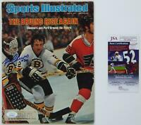 Gerry Cheevers Bruins SIGNED Autographed May 1977 Sports Illustrated HOF JSA COA