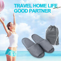 Men Women Disposable Open Toe Home Hotel Air Travel Spa Non-slip Slippers Shoes