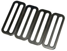 """Storm 2"""" Stainless Steel Divers Weight Belt Keeper - 4-Pack"""