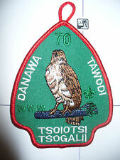 OA Tsoiotsi Tsogalii Lodge 70 Danawa Tawodi Chapter A-1,pp,Old North State Cl,NC
