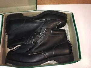 Rare Vintage Hy-Test Steel Toe Leather Welders Foundry, Biker, Work Boots 11 EEE