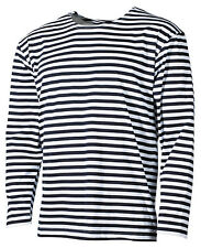 RUSSO MARINAIO Maglietta maniche lunghe maniche lunghe BLU-BIANCO S-XXL