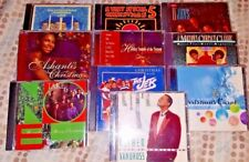 CHRISTMAS Music * 10 CD's * Jacksons Ashanti Temptations Luther Vandross O'Jays