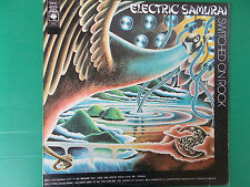 LP ELECTRIC SAMURAI SWITCHED ON ROCK PRESSING USA 1974 80353 COME NUOVO