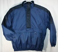 Vintage Nike Jacket XXL Blue Pullover Parka Puffy Coat