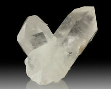 "5.3"" WaterClear QUARTZ Cross Crystals with Sharp Terminations Brazil for sale"
