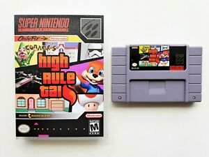 Conkers High Rule Tail RPG Adventure Game / Case SNES Super Nintendo USA Seller