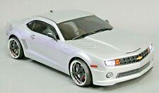 Custom RC 1/10 Drift CHEVY CAMERO AWD Belt CAR Silver RTR