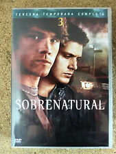 DVD Sobrenatural,Tercera Temporada,Serie TV