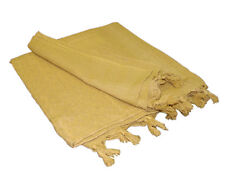 Tactical Arab Keffiyeh SHAMAGH SCARF Head Wrap - Coyote TAN