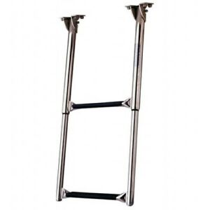 Garelick Under Platform Telescoing Ladder - 3 Step