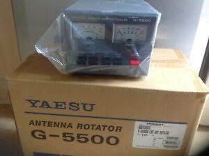 Yaesu G-5500DC- Azimuth/Elevation Rotator-NEW MODEL incls;Plugs+3yr warranty