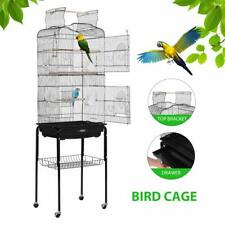 "Vivohome 59.8"" Bird Cage Large Play Top Parrot Finch Cage Pet Supplies Removable"