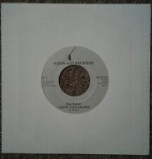 """Ken Kaiser I Love You Laurie / Joyce  7"""" Vinyl Single Kleen Kut Records KK-514"""