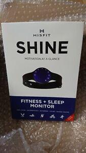 Misfit Shine Fitness & Sleep Monitor *SHINE*NO CHARGING FASTP&P