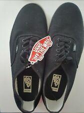 Vans Authentic Natural Hemp Men's UK 10.5 Black Trainers Linen