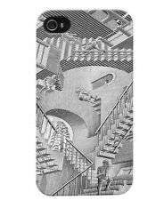 NEW in BOX M. C. Escher Snap-On Case Apple iPhone 4 4s - Relativit, Free Screen!