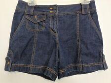 ANN TAYLOR LOFT Denim Shorts Size 4 Womens Blue Cotton Jean Shorts