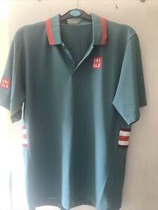 Uniqlo Kai Nishikori Tennis Shirt Size UK Medium
