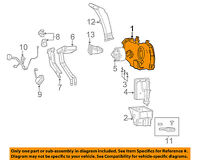 GM OEM-A//C AC Evaporator Core Case 89019326