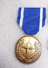 NORTH ATLANTIC TREATY ORGANIZATION, NATO MEDAL, SERVICE MEDAL.