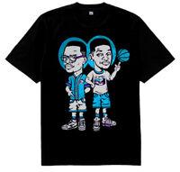 New 5 Fresh Prince of Bel Air Jazz shirt Black  jordan 8 aqua air Cajmear