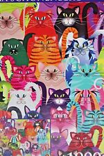 New Cats True Colors Emma Schonenberg 1000 pc Puzzle Sealed Made in USA