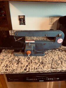 """Vintage & Tested Dremel 57-2 Series 4 Moto-Shop 15"""" Scroll Saw/Sander"""