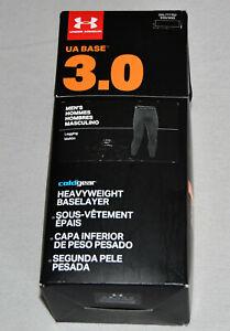 New Mens Under Armour ColdGear 3.0 Base Layer Leggings Long Johns 3XL 1281109