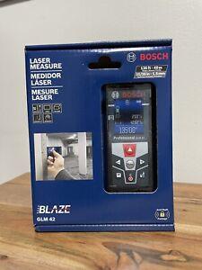 Bosch GLM 42 Blaze 135 Ft. Laser Measure with Color Display