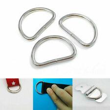 Resistant metal handbag leather bag Belt Strap Web O D Ring Clasp Fas