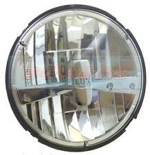LAND ROVER DEFENDER CLASSIC MINI 7 INCH ROUND FULL LED CHROME HEADLAMP HEADLIGHT