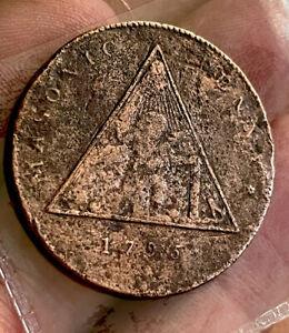 Masonic Penny Token 1795