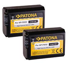 2 x Patona-Akku für Sony Alpha 6000 ILCE-6000 - NP-FW50