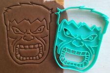 Cookie Cutter hulk avengers cookiecutter cookies custom shape
