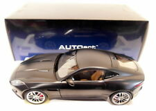 Autoart 1/18 Scale Diecast - 73652 Jaguar F-Type 2015 R Coupe Matt Black