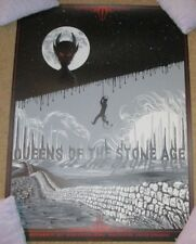 QUEENS OF THE STONE AGE concert poster MANCHESTER 11-19-17 2017 Neal Williams