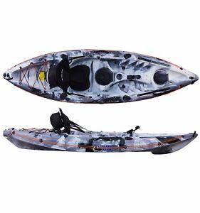 SIT ON KAYAK CANOE GALAXY CRUZ 2021 MODEL LEISURE AND FISHING SINGLE SILVER