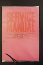 AKAI CR-81T Tape Recorder/Tuner Combi Original Service-Manual/Schaltplan/Diagram
