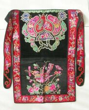 Chinese Minority People's old  Hand Embroidery  baby carrier